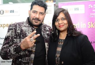 Singer Shankar with Artist Nishi Singh
