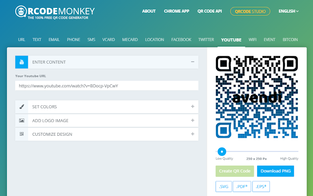 QR-Code Monkey