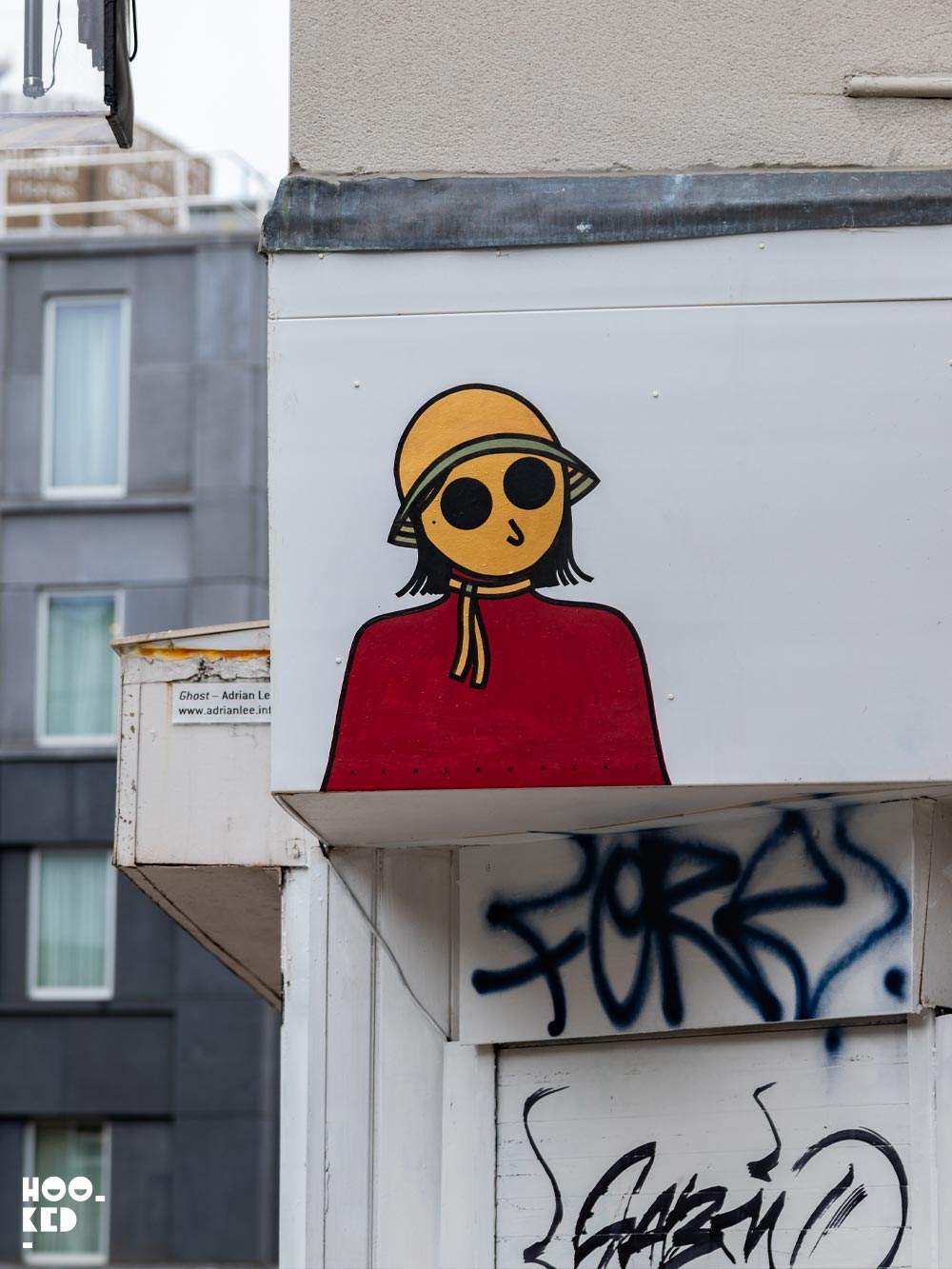 French Street Art Duo Kamlaurene's London Paste-ups