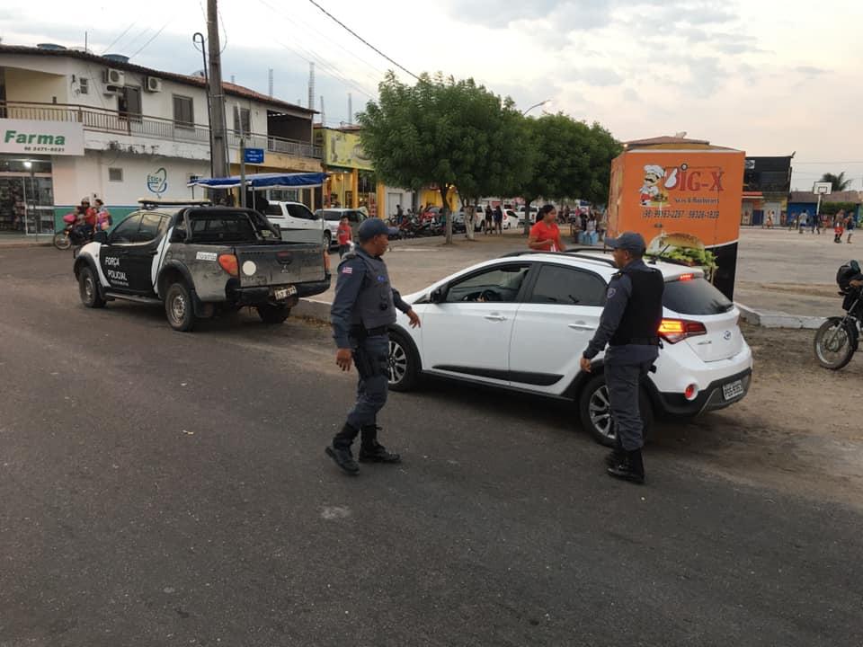 Polícia Militar reforça segurança e realiza Blitz para recuperar motos roubadas e furtadas em Chapadinha.