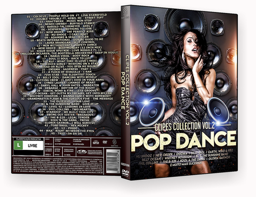 CAPA DVD – POP DANCE CLIPES COLLECTION VOL.2 – ISO