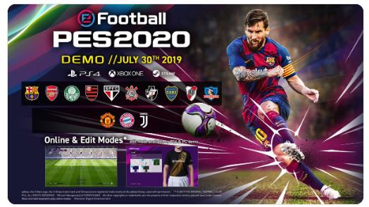 LE FC BARCELONE, LE FC BAYERN ET LE JUVENTUS DEVRAIENT ÊTRE EN VEDETTE DANS PES 2020