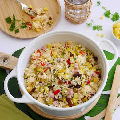Tropical Savory Rice Recipe