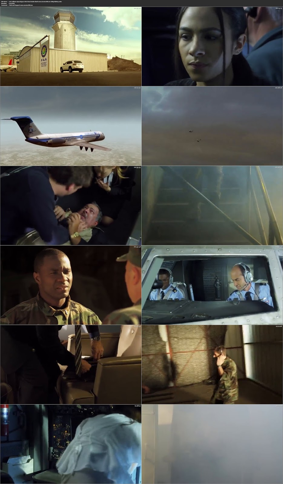 Air Collision Apocalypse 2012 Hindi Dubbed 300MB BluRay 480p at movies500.info