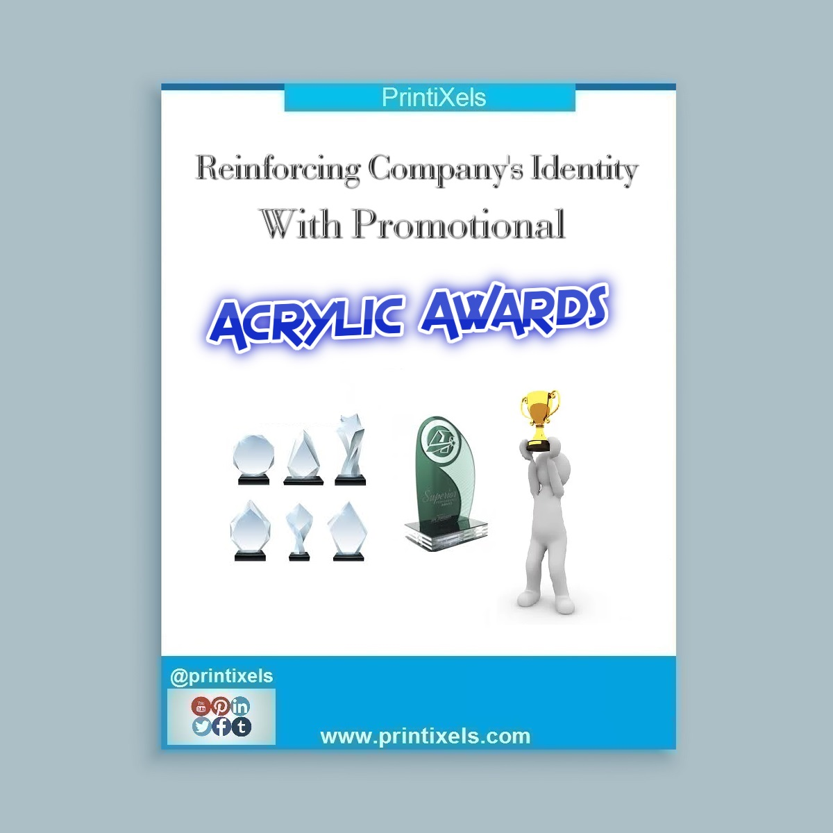 Reinforcing Company's Identity With Promotional Acrylic Awards