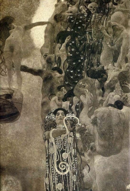 Medicina di Gustav Klimt