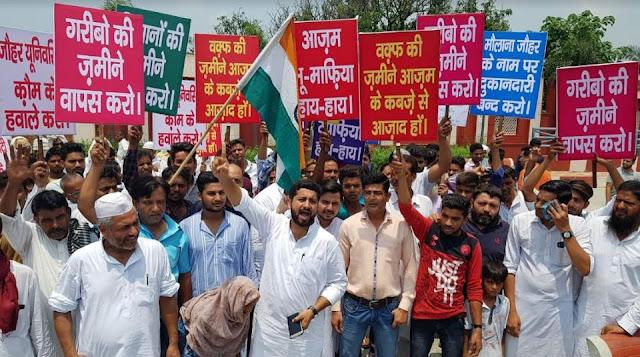 आज़म के खिलाफ यतीम-किसानों का आक्रोश, पीड़ितों ने रोका 21 सपा विधायकों का काफिला... - newsonfloor.com