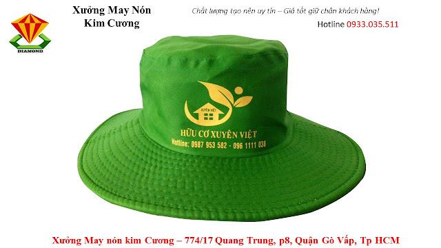 May nón tai bèo số lượng lớn ở Bà Rịa - Vũng Tàu