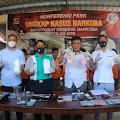 Ditnarkoba Polda NTB Bongkar Pabrik Sabu di Lombok Timur