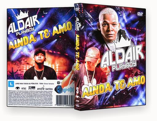 ALDAIR PLAYBOY AINDA TE AMO – ISO – CAPA DVD