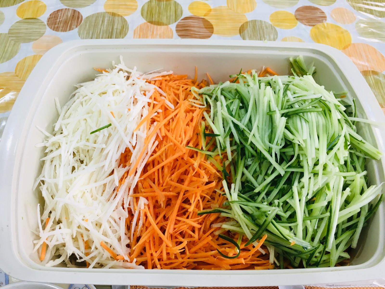 resepi popia goreng inti sayur  sedap rangup  mudah disediakan blog cik matahariku Resepi Jejari Udang Rangup Enak dan Mudah