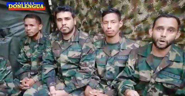 CASI ROJO | Guanipa solicitó al Papa y la Cruz Roja ayudar a liberar a los militares secuestrados en Apure
