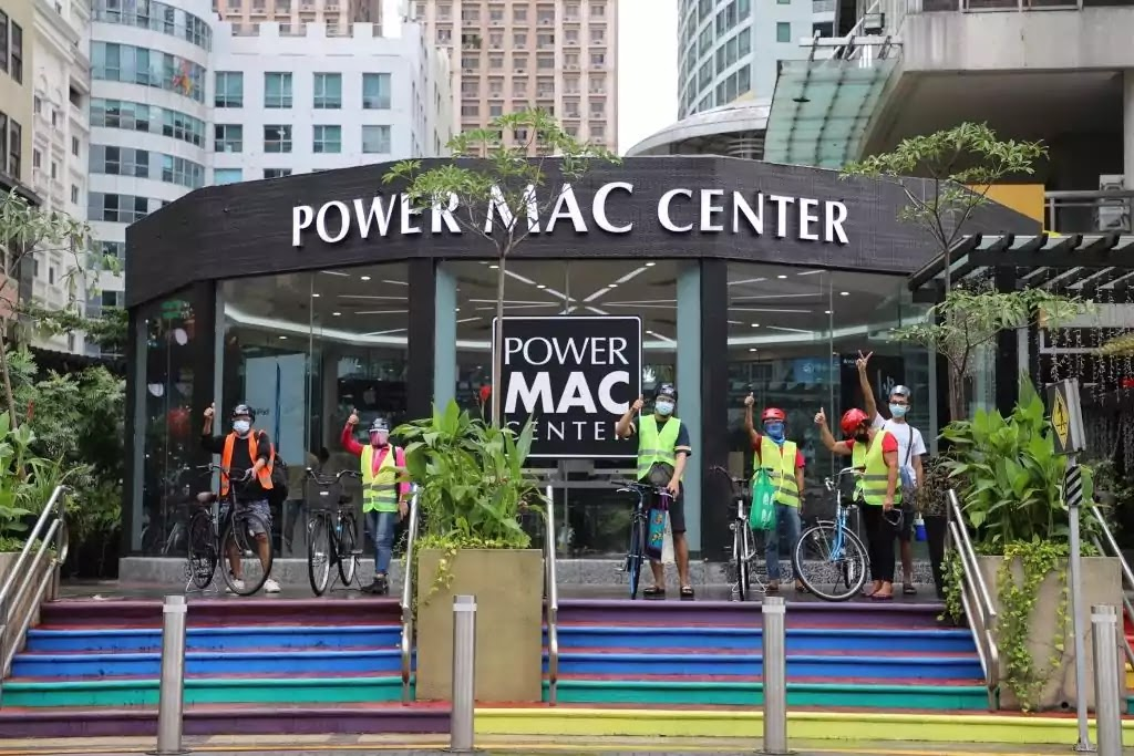 Power Mac Center and Gretchen Ho