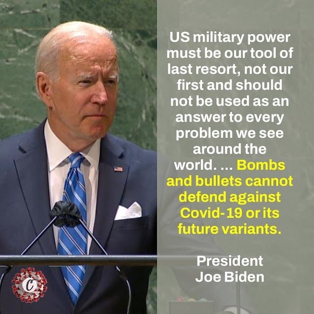 Biden Makes The Case For Using Relentless Diplomacy Instead Of Military Might