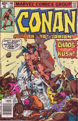 Conan the Barbarian #106