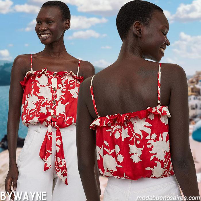 tops verano 2021 moda 2021