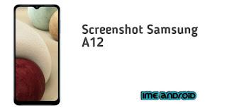 Screenshot Samsung A12