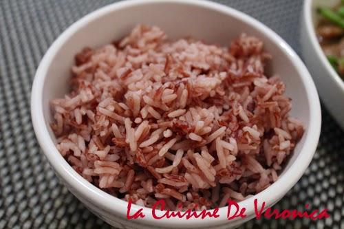 La Cuisine De Veronica V女廚房: 有營紅米飯