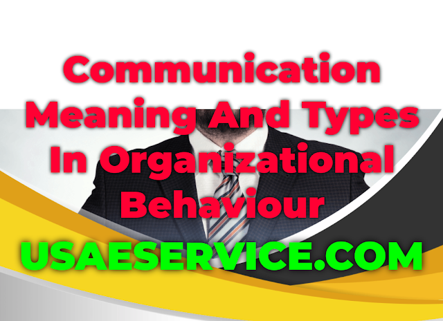 Communication Meaning Process Types In OB