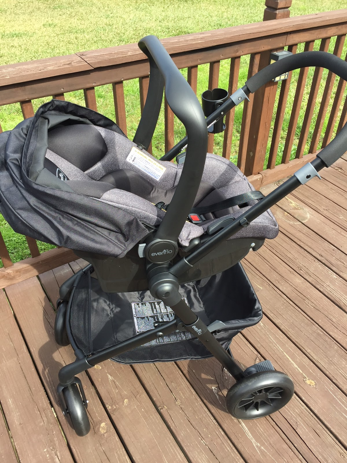 In Infant Mode The Toddler Base Can Also Be Removed And Car Seat Fits Right Into Stroller