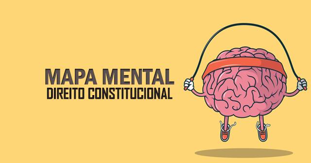 MAPAS MENTAIS - DIREITO CONSTITUCIONAL
