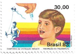 Selo Prevenção da poliomielite