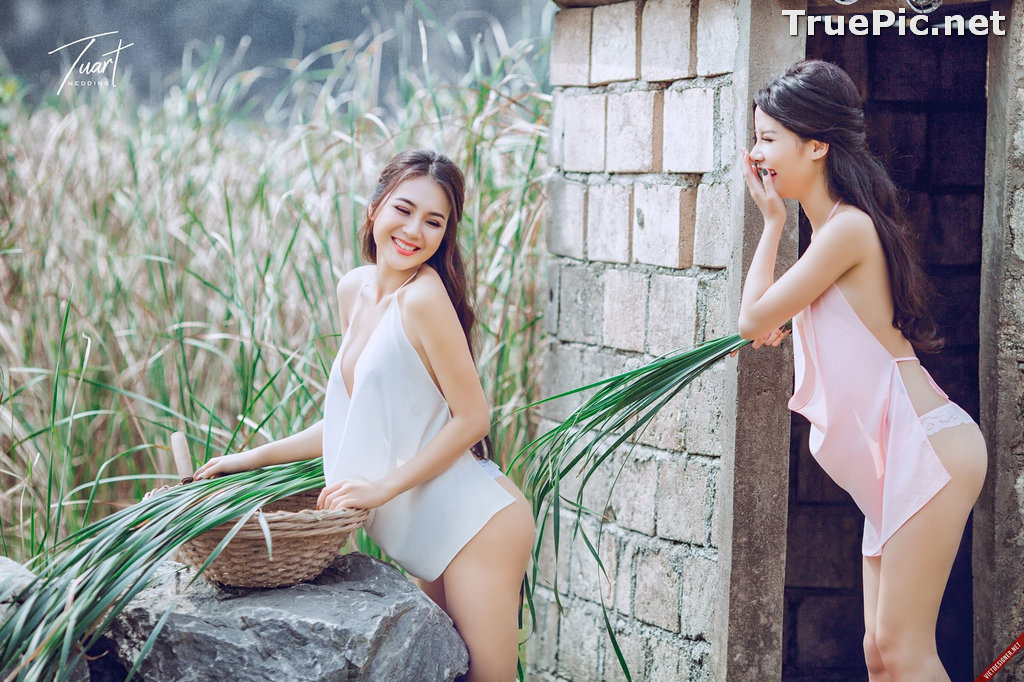 Image Vietnamese Hot Model - Two Sexy Girl In The Valley - TruePic.net - Picture-8