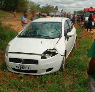 Estudante morre atropelada