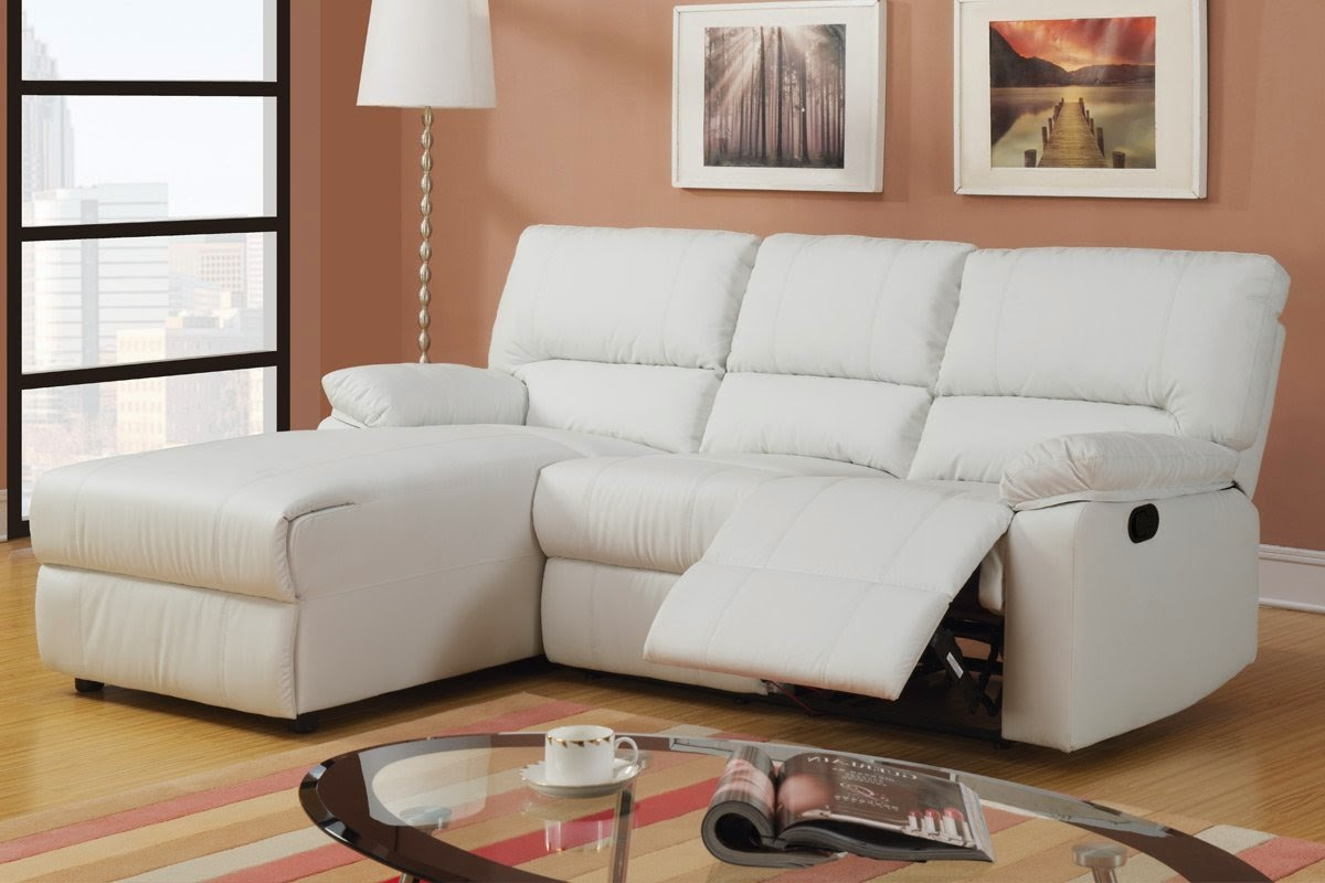 white leather sectional sofa with recliner boardwalk table couch