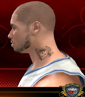 NBA 2K13 Neck Tattoo Mod - Dice with Wings