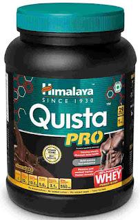 Himalaya Quista Pro Advanced Whey Protein Powder - 1kg (Chocolate)