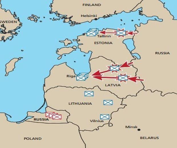 Россия может атаковать в регионе Балтийского моря