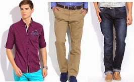 Minimum 60% Off on Top Brands Shirts, Trousers and more @ Flipkart (Limited Period Deal)