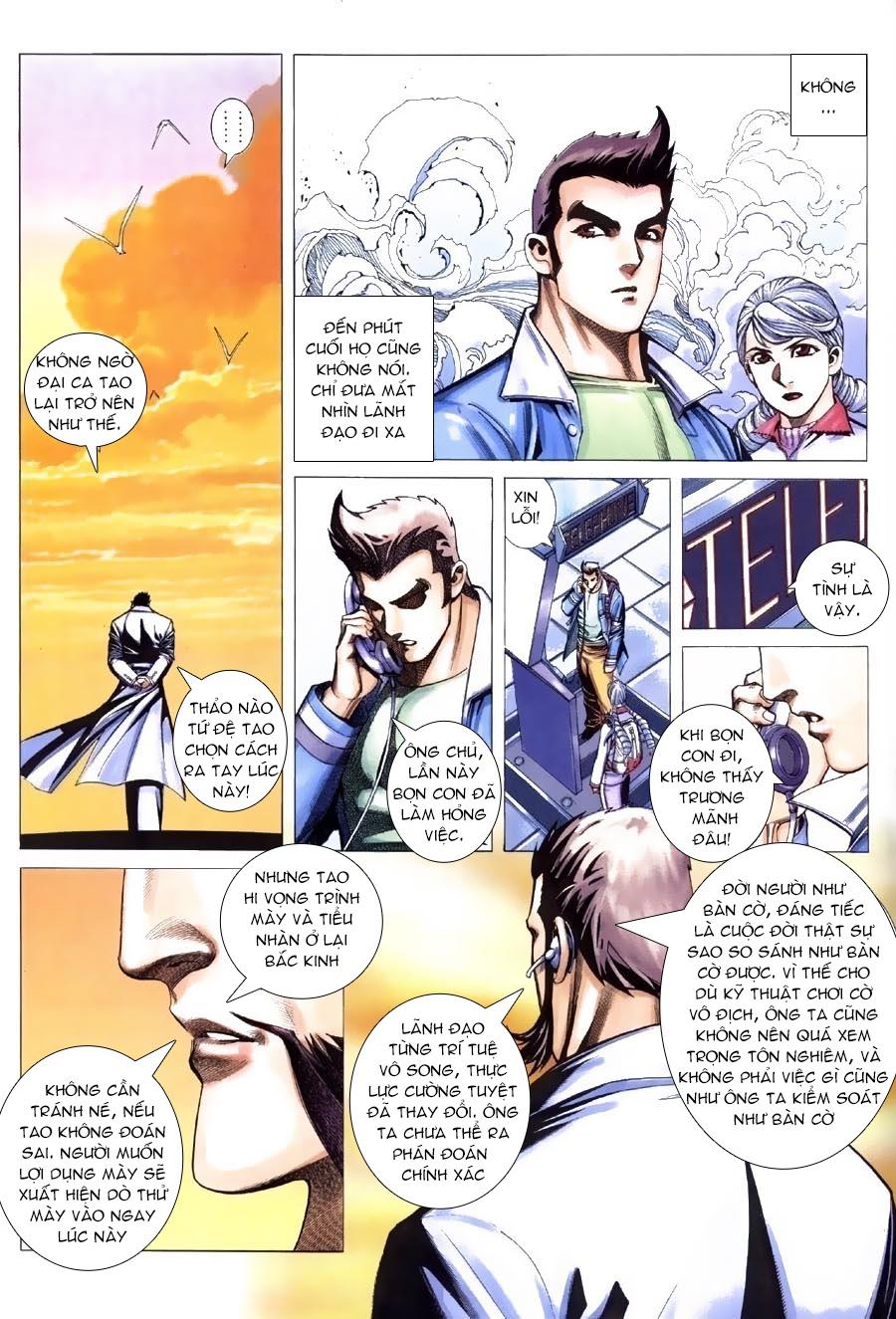 Xích Trụ Phạn Đường chap 13.2 - Trang 16