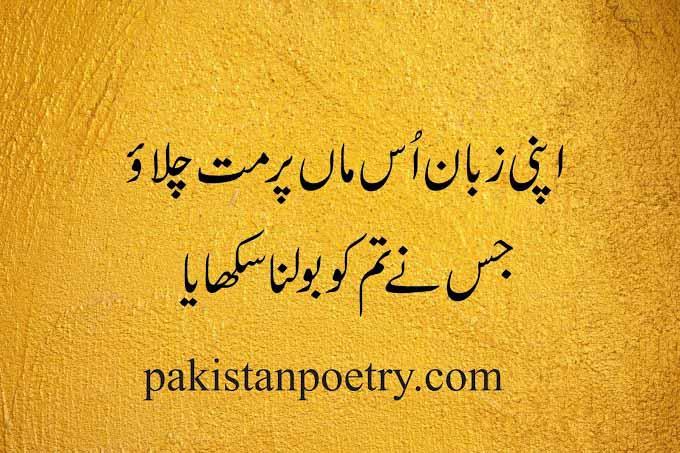 Urdu Poetry | 2 line poetry