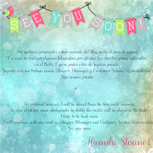 ∞ Stoanes Style ∞: * See you soon *