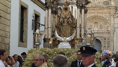 Suspendida la procesión de la Virgen de los Milagros del Puerto de Santa María (Cádiz)