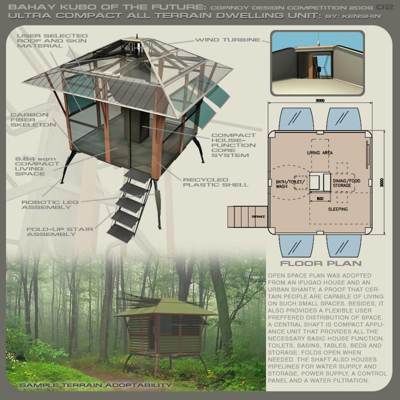 Philippine Dream House Design : Futuristic Bahay Kubo