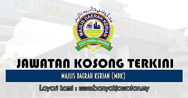 Jawatan Kosong 2019 di Majlis Daerah Kerian (MDK)