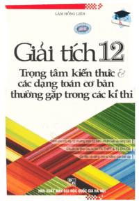 Giải Tích 12 - Lâm Hồng Liên
