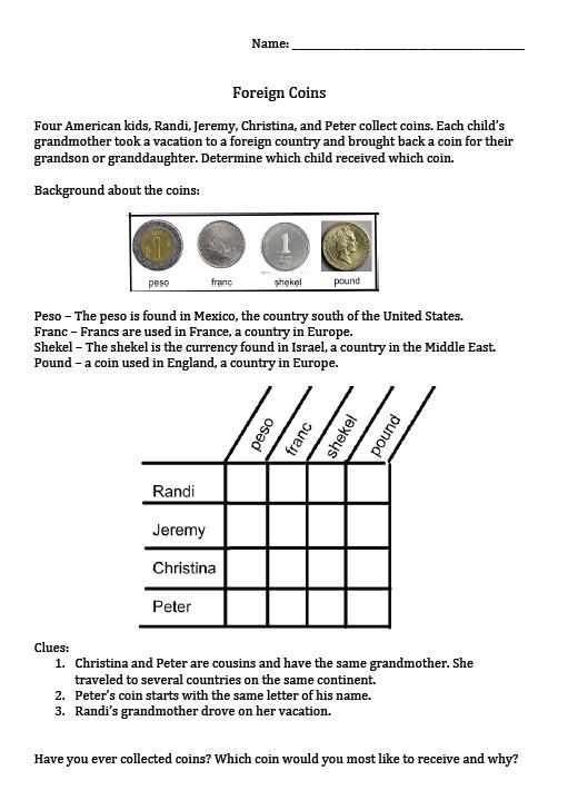 The Best of Teacher Entrepreneurs III: Money Puzzle Package