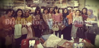 Kunjungan Belanja Pusdikif Bandung ke Distributor Terry Palmer