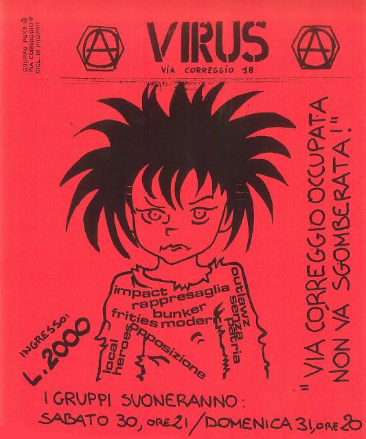 Virus concerti a 2000 lire