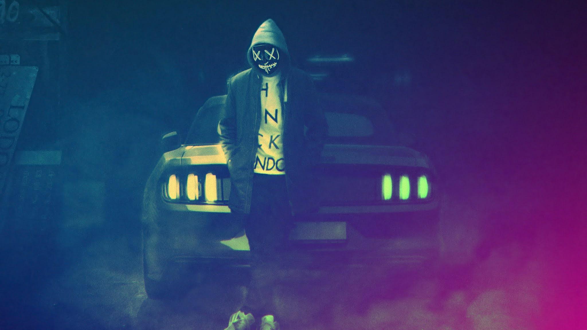Hd Wallpaper Ford Mustang Hoodie Mask Boy Hd wallpaper ford mustang hoodie mask