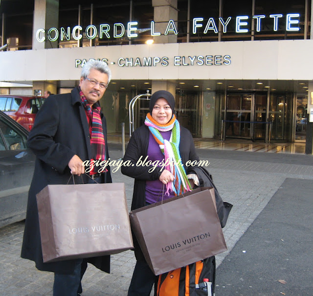 Shopping LV di Paris