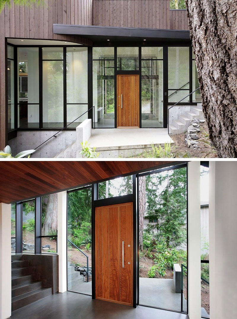 Doors Design: Brilliant Wood Door Designs Add A Warm Welcome