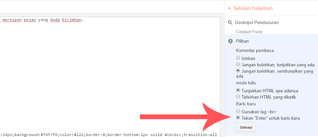 Cara Membuat Contact Form (Contact Us) Keren di Blogspot - Cara Menambahkan Widget Formulir Kontak di Blogger 4