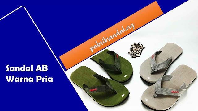 Produksi Sandal Pria | Sandal Pria Ter-LARIS | Sandal AB Warna Dewasa
