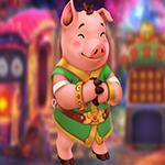 Games4King -  G4K Untroubled Pig Escape