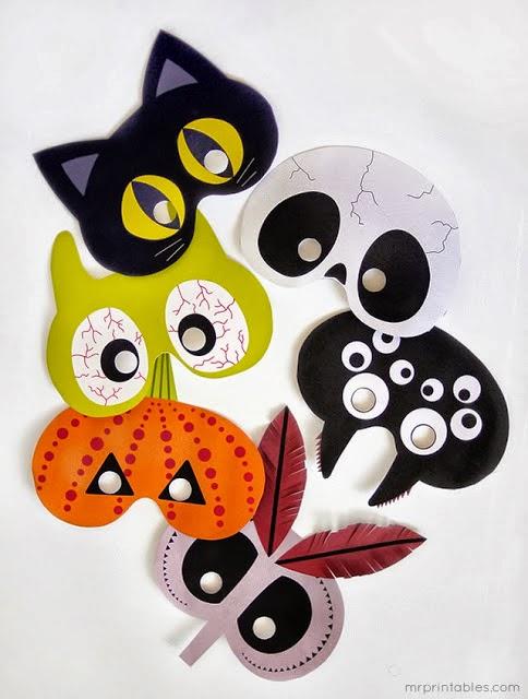 d co fait main cr er masque halloween pour enfant facile. Black Bedroom Furniture Sets. Home Design Ideas